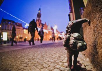 Por las huellas de los gnomos mágicos de Breslavia