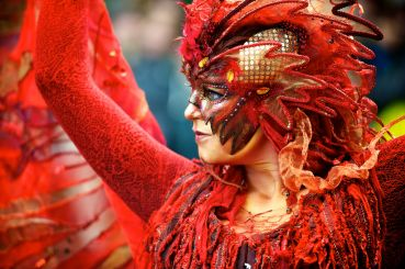 TOP carnivals of the world: extravaganza of colors and emotions