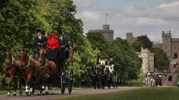 Die Eröffnung des Royal Windsor Horse Show 2014
